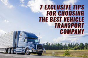 best vehicle transport company